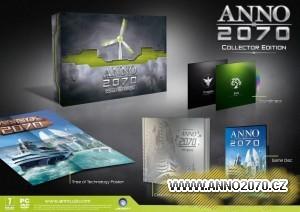 Foto sběratelské edice Anno 2070