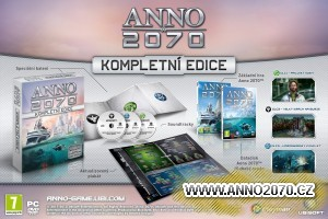 Anno 2070 Kompletní edice v češtině se všemi datadisky a bonusy