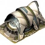 Futuristická stavba