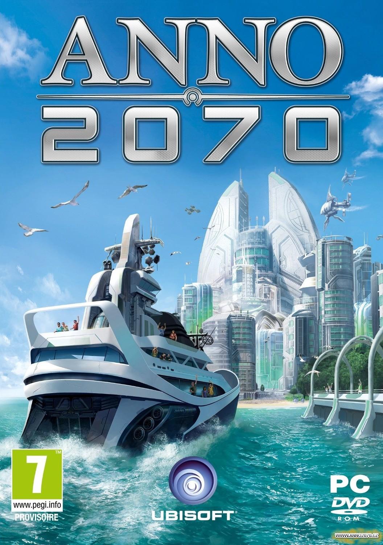 Anno 2070 - obal hry moderní