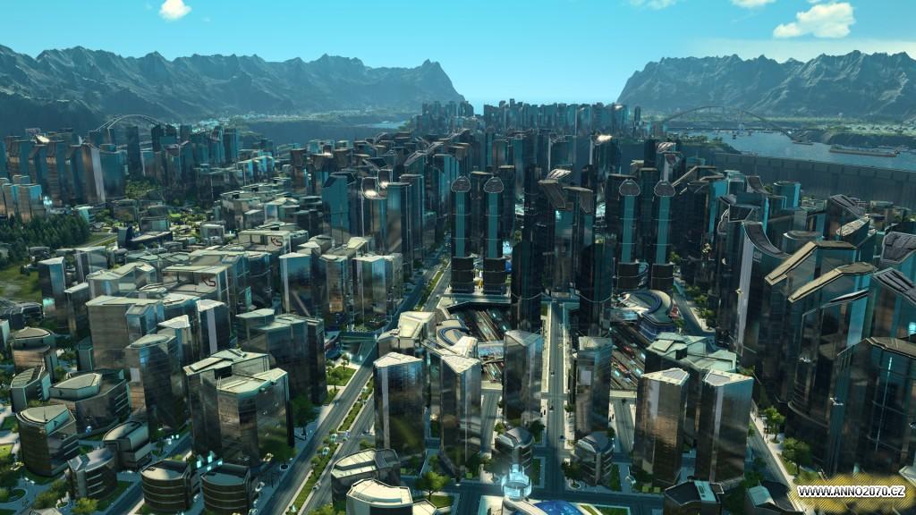 Anno 2205 - metropole s mrakodrapy